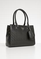 GUESS - Levine satchel  - black