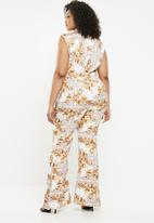 Missguided - Curve zimmerman plunge jumpsuit - multi