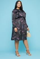 Superbalist - Frill peasant style dress - multi