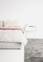 Linen House - Aidy duvet cover set - peach & grey