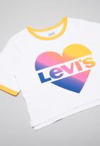 Levi's® - Graphic cropped ringer tee - multi