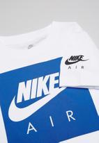 Nike - Air box short sleeve tee - white