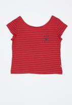 Roxy - Baby tee - red