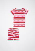 Cotton On - Chloe short sleeve girls pj set - multi