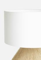 Sixth Floor - Paje table lamp - neutral