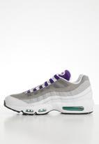 Nike - Air Max 95 lv8 - white / court purple