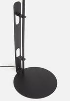 Emerging Creatives - Stockholm floor lamp - black