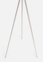 Sixth Floor - Mantis tri floor lamp - white