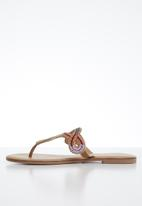 ALDO - Rithrania leather sandal - bright multi