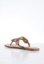 ALDO - Rithrania leather sandal - bright multi