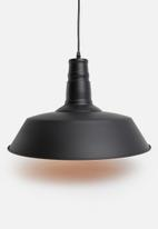 Sixth Floor - Orna pendant - black