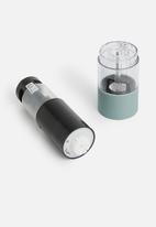 Excellent Housewares - Rubber peppermill - mint