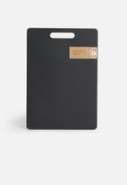 Excellent Housewares - Cutting board - black