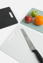 Excellent Housewares - Cutting board - white