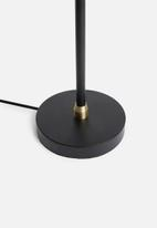 Sixth Floor - Ember desk lamp - black