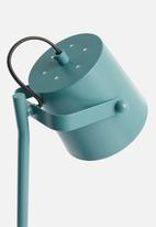 Sixth Floor - Ember desk lamp - egg shell blue