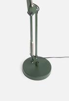 Sixth Floor - Nimbus desk lamp - green