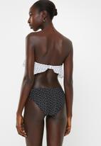 Brave Soul - Lia bikini bottom - black & white
