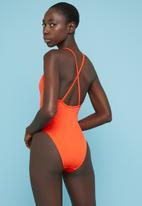 Superbalist - Strappy back one piece - orange