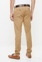 GUESS - Fashion chino pants - brown