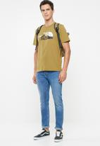 The North Face - Short sleeve mount line tee - brown