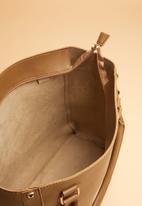 Superbalist - Stud detail handbag - tan