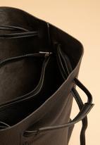 Superbalist - Matt finish tote bag - black