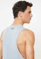 Under Armour - Sportstyle left chest cut-off tee - grey