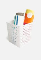 Storage Solutions - Polly storage basket - white