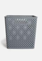 Storage Solutions - Polly storage basket large - grey