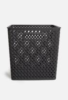 Storage Solutions - Polly storage basket - black