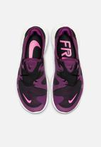 Nike - Free 5.0 - black /pink blast-true berry
