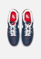 Nike - Air Force 1 '07 lv8 4 - obsidian / white-university red