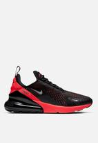 Nike - Air Max 270 - black /metallic silver-bright crimson