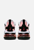 Nike - Air Max 270 react - Black / White / Bleached Coral