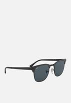 Ray-Ban - Clubmaster metal 51mm sunglasses - black