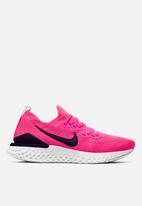 Nike - Epic react flyknit 2 - pink blast / black-white