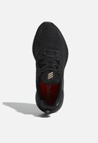 adidas Performance - Alphabounce + run - core black / cyber metallic