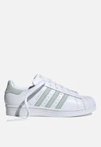 adidas Originals - Superstar - white / vapour green