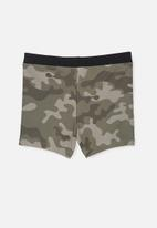 Cotton On - Benny boyleg trunk - khaki