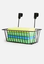 Storage Solutions - Metal storage basket - black