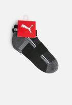 PUMA - 2 Pack sport technical running socks - white & black