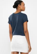 Cotton On - Classic slogan T-shirt paris - navy