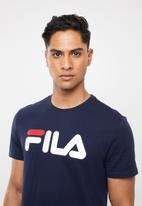 FILA - Deckle crew neck tee - navy