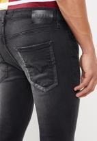 GUESS - Specta super skinny jeans - black
