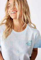 Cotton On - Classic slogan T-shirt - blue
