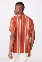 Cotton On - Downtown loose fit tee - orange
