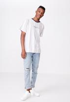 Cotton On - Downtown loose fit tee - grey