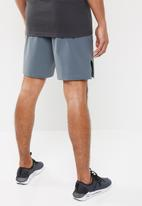 Under Armour - Project Rock training short - pitch gray / black