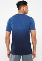 Under Armour - Project Rock bull graphic short sleeve tee - blue
